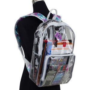 Handbags - NEW clear pvc school backpack
